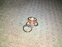 Set of four rings size 9 Cartersville, 30120