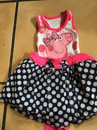 Toddler's red and white polka dot dress San Diego, 92173