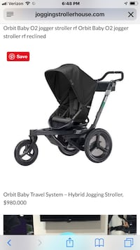 Orbit Baby O2 Jogging Stroller