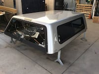 C4-010 Used A.R.E. V-Series Truck Camper Shell GMC 2007 to 2013 6.5ft El Monte, 91733