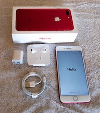 Apple iphone 7 plus red 256GB Vancouver