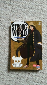 One Piece Strong World Manga Band 2