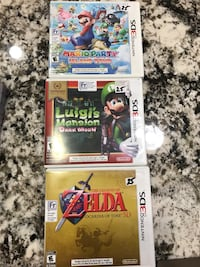 3 3ds games