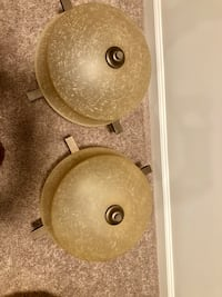 Set of two ceiling globe lights Frederick, 21702