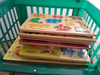 Wooden puzzles, box puzzles, kid games