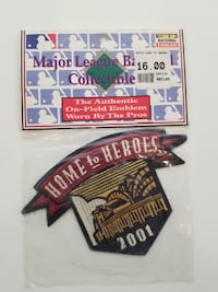 2001 Milwaukee Brewers Home to Heroes Stadium Inaugural Patch New L@@K - $10
