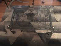 Wrought Iron Beveled Glass Coffee Table with matching End Table Arlington Heights, 60005