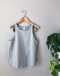 LULULEMON BLISSED OUT TANK SIZE 6 HEATHERED MEDIUM GREY 3125 km