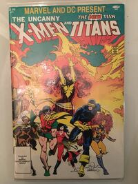 Marvel and DC Present the X-Men and the Teen Titans (1982)  Toronto, M5G