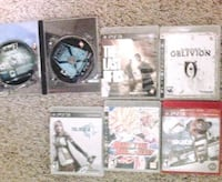 four assorted PS3 game cases Fort Collins, 80524