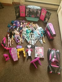 assorted Monster High doll lot Westfield, 01085