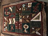 African cloth, wall hanging 4x6 ft Takoma Park, 20912