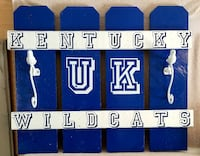 Kentucky Wildcats wall decor