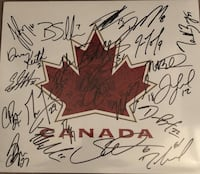 2010 Team Canada Gold Signed Photo Mississauga, L5M 7S4