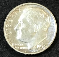 1953 Proof Silver Dime - Low Mintage