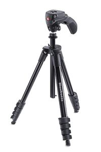 Professional Photo and Video Compact Action Tripod (Black)