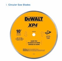 Wet saw blade 10 inch Dover, 19901