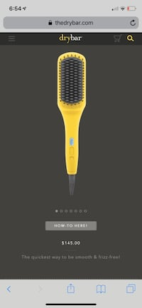 DRYBAR straightening brush