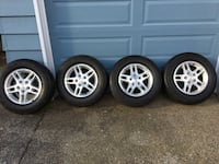 Toyo 235/65/16 Siped. 5x5 Jeep Grand Cherokee wheels. Basically new Vancouver, 98663
