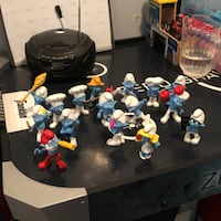 Smurfs collectables Brampton, L6Y 1T6