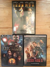 DVDs - Iron Man Collection Dover, 19901
