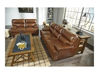 Genuine leather sofa and loveseat  Elgin, 60120