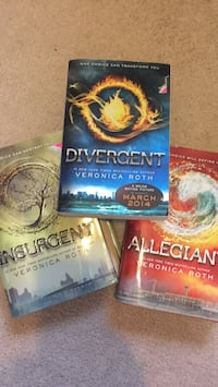 Divergent Bestseller novel set Arlington, 22204
