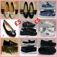assorted pair of shoes lot West Yorkshire, LS11 7LW