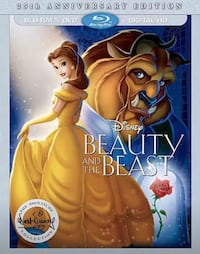 Beauty and the Beast Blu Ray DVD 25th Anniversary  Lorton, 22079