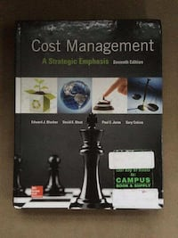 Cost management; a strategic emphasis 7 E excellent condition Coopersburg, 18036