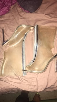 Clear Boot Heels Size 8.5 Oxon Hill, 20745