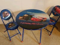 Cars table and chairs Minneapolis, 55417