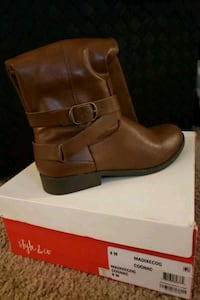 Brown Tall Boots Size 8 Women's Shoes Laurel, 20708