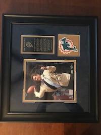 Dan Marino Hall of fame autographed picture Abingdon, 24211