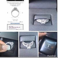 Tolkowsky Engagement Ring size 6.5 New Braunfels, 78130