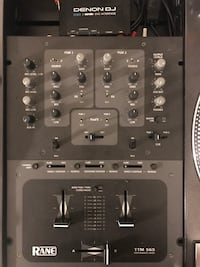 Rane TTM 56s DJ Mixer and Denon DJ DS1 Serato DVS Interface Baltimore, 21201