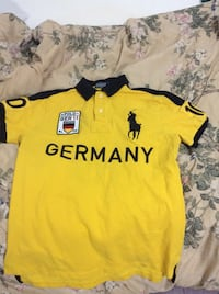 Medium Germany polo shirt number 10  Surrey, V3T 4C3