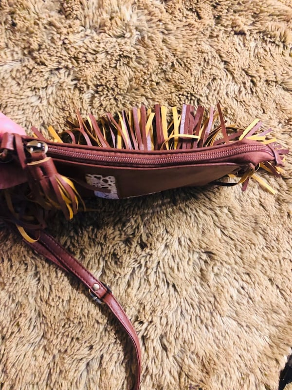 Lil Girls Fringed Purse by JUSTICE 75cee175-2c9f-465d-90d7-016f338ee03c