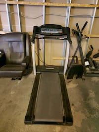 black and gray automatic treadmill Newport News, 23608