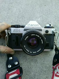 AE-1 Canon camera 35mm with lens attachment Riverside County