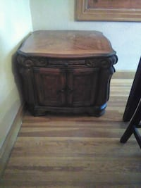 Wood oak obo table Chaves County