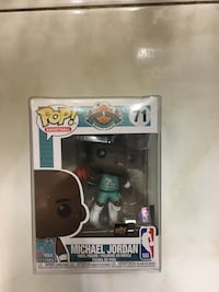 Michael Jordan all-star upper deck exclusive Funko Pop.