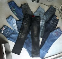 JEANS AND PANTS CLOTHING LOT  Surrey, V3V 1H8