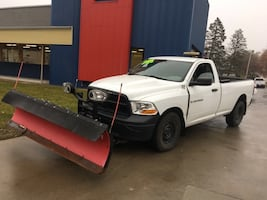 2012 Ram 1500 4WD With Boss Snow Plow GUARANTEED CREDIT APPROVAL!