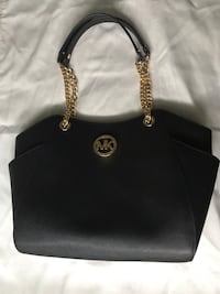 Black Michael Kors Leather Tote Bag Elk Grove, 94546