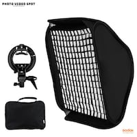 20inch Flash Softbox w/ Grid + S-Type Bracket (compatible with all flashes) BRAND NEW!! Toronto