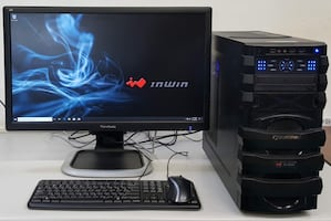 Custom i7-6700 Windows 10 Gaming Computer 512GB msata SSD 32GB RAM