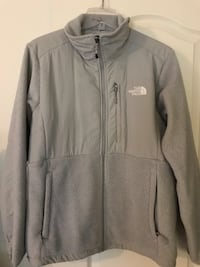 Gray the north face zip-up jacket Woodbridge, 22193
