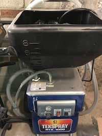 Graco texture machine to spray popcorn ceilings