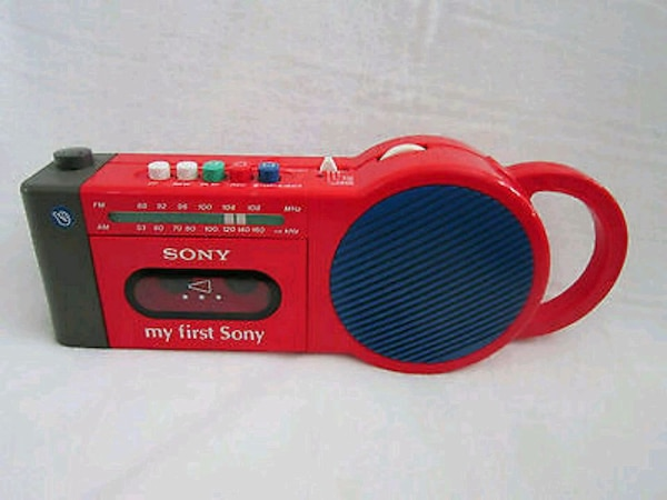 My 1st Sony cassette player